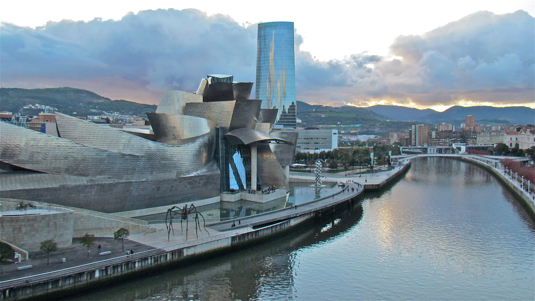 GUGGENHEIM, BILBAO, SPAIN by Joeann Edmonds-Matthew