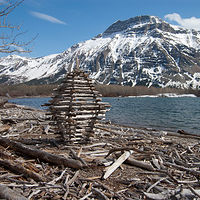 Waterton Cairn by Troy Nickle