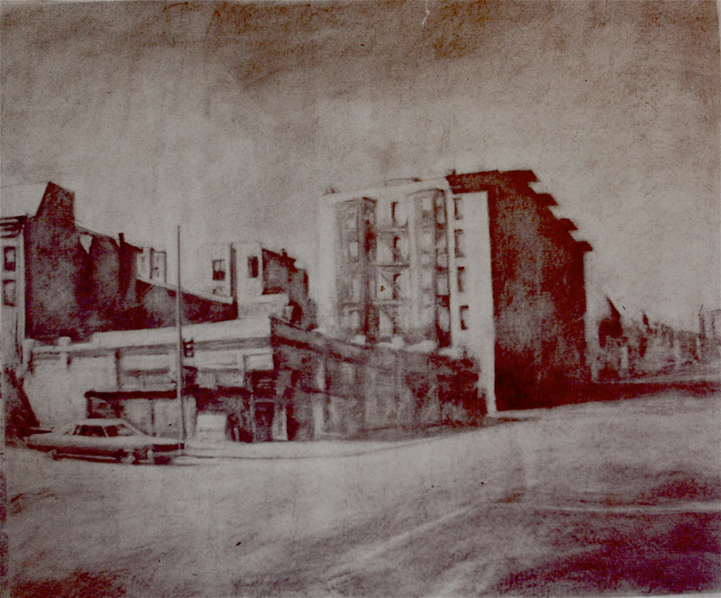 Drawing Florida Avenue by Scott Ivey