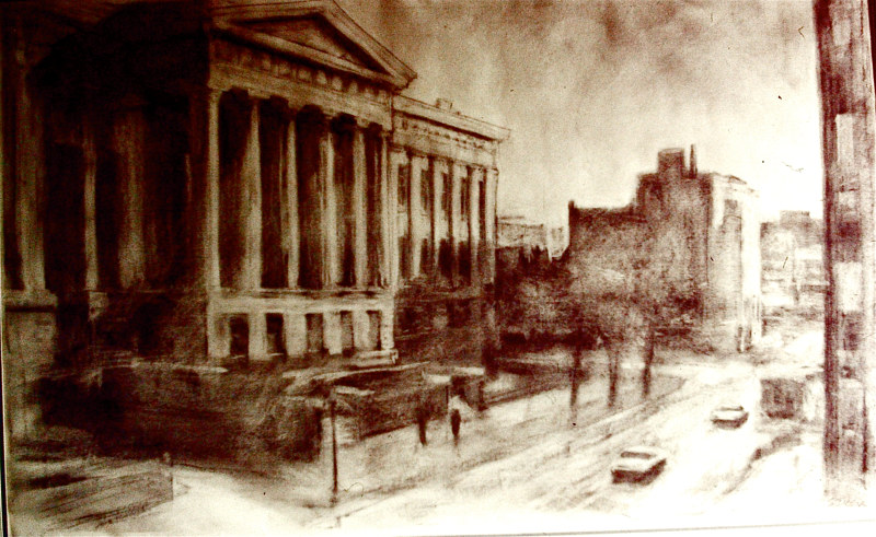 Drawing 9th Street by Scott Ivey