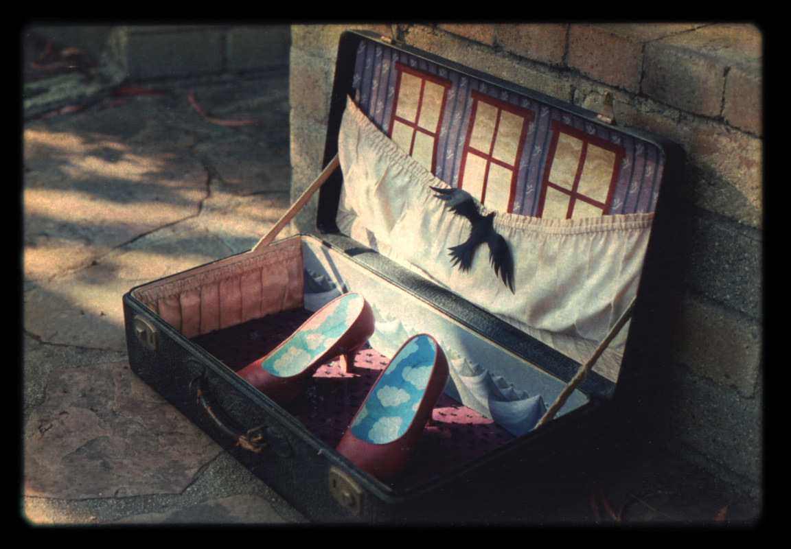 Suitcase Dream by Laurey  Foulkes