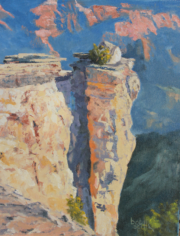 Oil painting South Rim Sunrise by Bob Spille