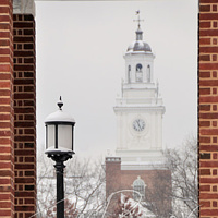 #BWI12 - JHU Gilman Hall Clock Tower by Ivan Petrov