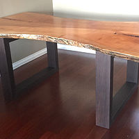 Live Edge Dining Table by Enrique Morales