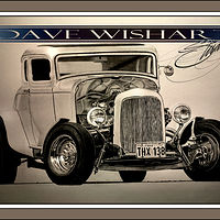 The '32 Five Window Deuce Coupe from American Grafitti by Dave Wishart