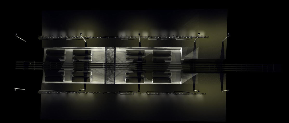 Safe House feature set design by Hendrik Gericke