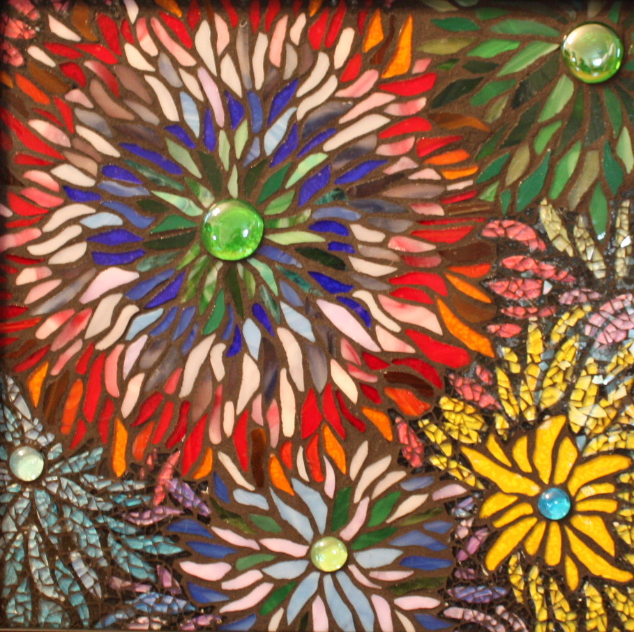 Mixed-media artwork Hope in Bloom by Linda Biggers