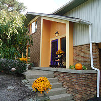 The welcoming entrance to 468 Fort Gray Lewiston NY 14092 by Michelle Marcotte