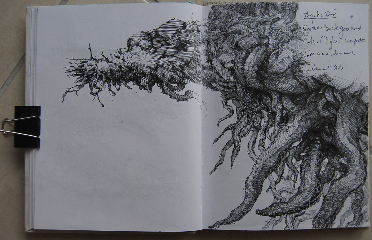 Tumour sketch, 2009 by Hendrik Gericke