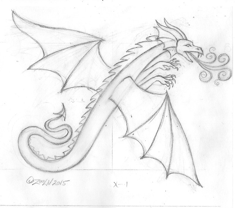 "Drawing hicsuntdraco sketch ""X"" - 1.0 by Sue Ellen Brown"