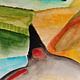Watercolor Dunes 2  by Nathalie Gribinski