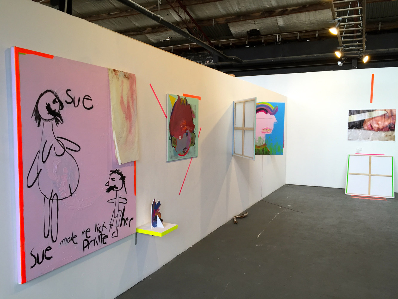 Install shot.  by Jaye Early