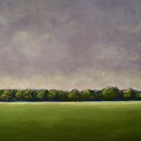 Oil painting Across the Field- SOLD by Sarah Trundle