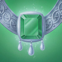 Print The Emerald Medallion, small print by Sue Ellen Brown