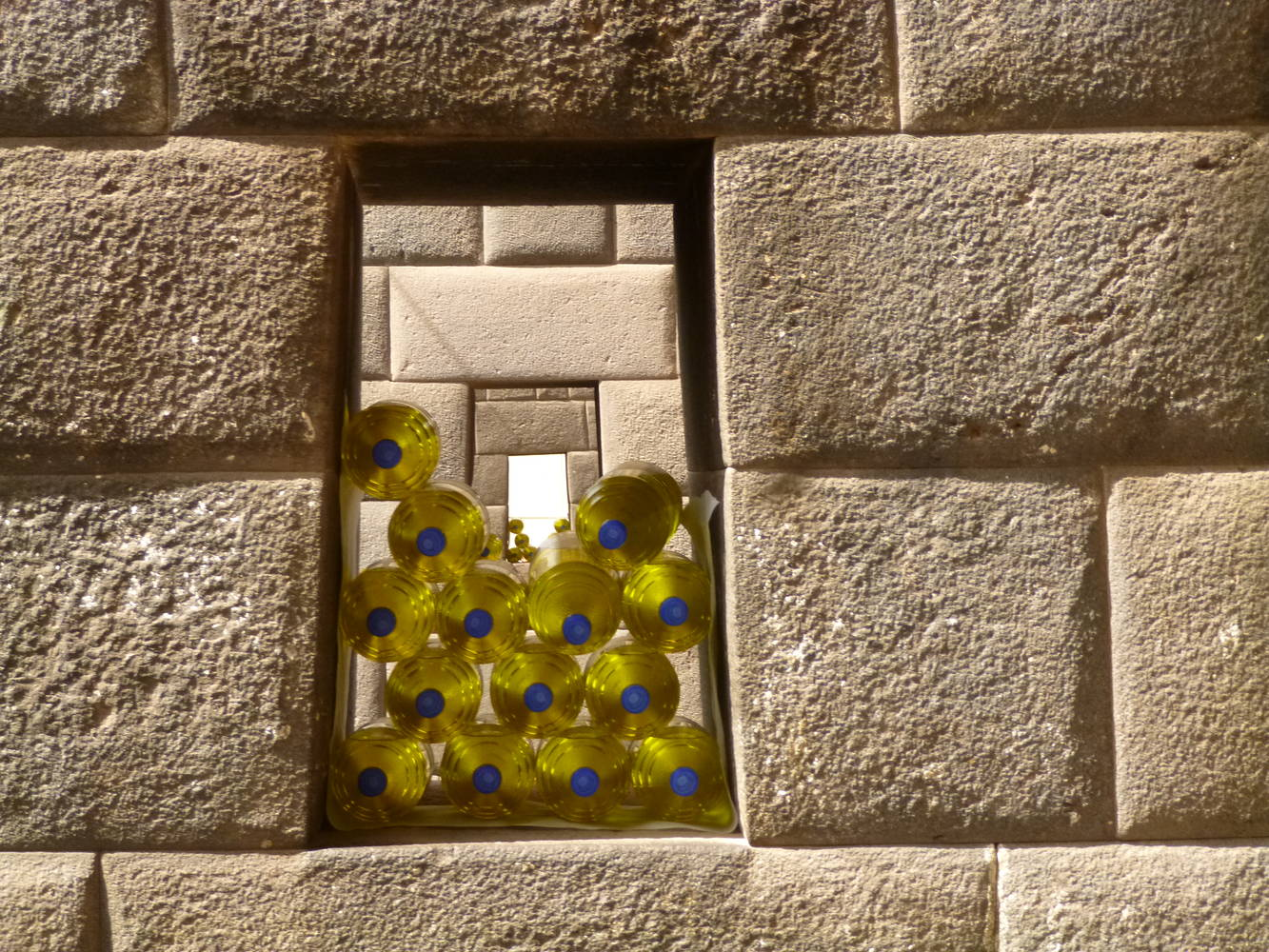 Inca Chamber Windows by El Celso