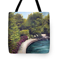 Print Naperville tote by Debbie Hart