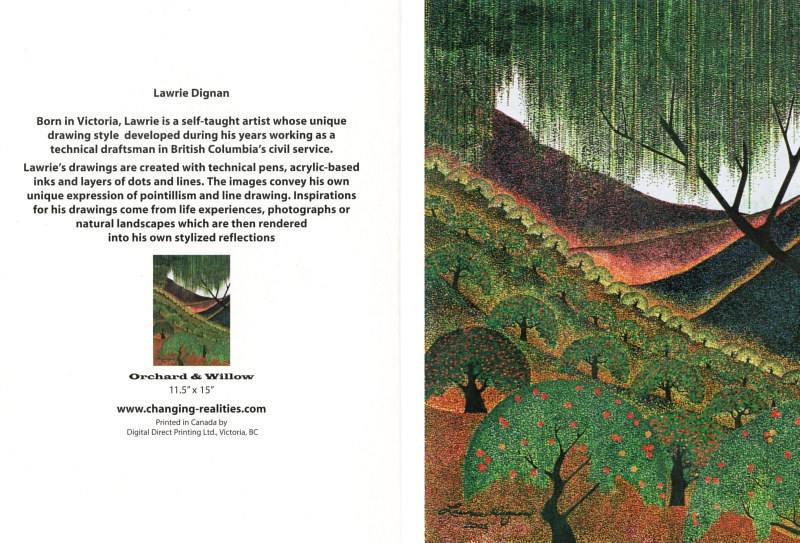 Orchard and Willow by Lawrie  Dignan