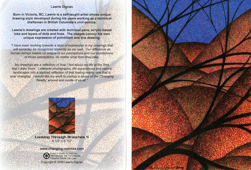 Looking Through Branches 5 by Lawrie  Dignan