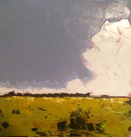 Oil painting Clouds- SOLD by Sarah Trundle
