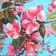 Painting Spring Blossoms by Brent Ciccone