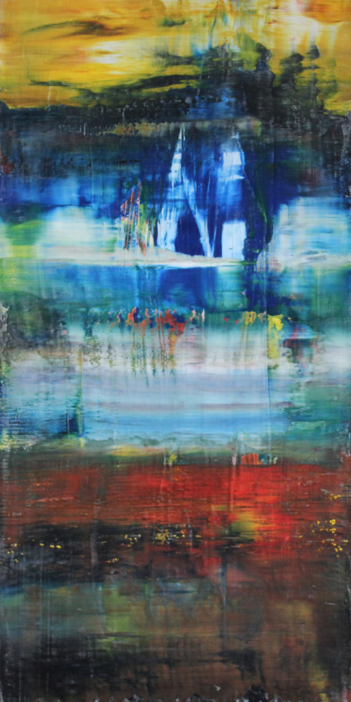 "Time Immermorial ~ 48""x 24"" ~ $1,400 by Paul Catalanotto"