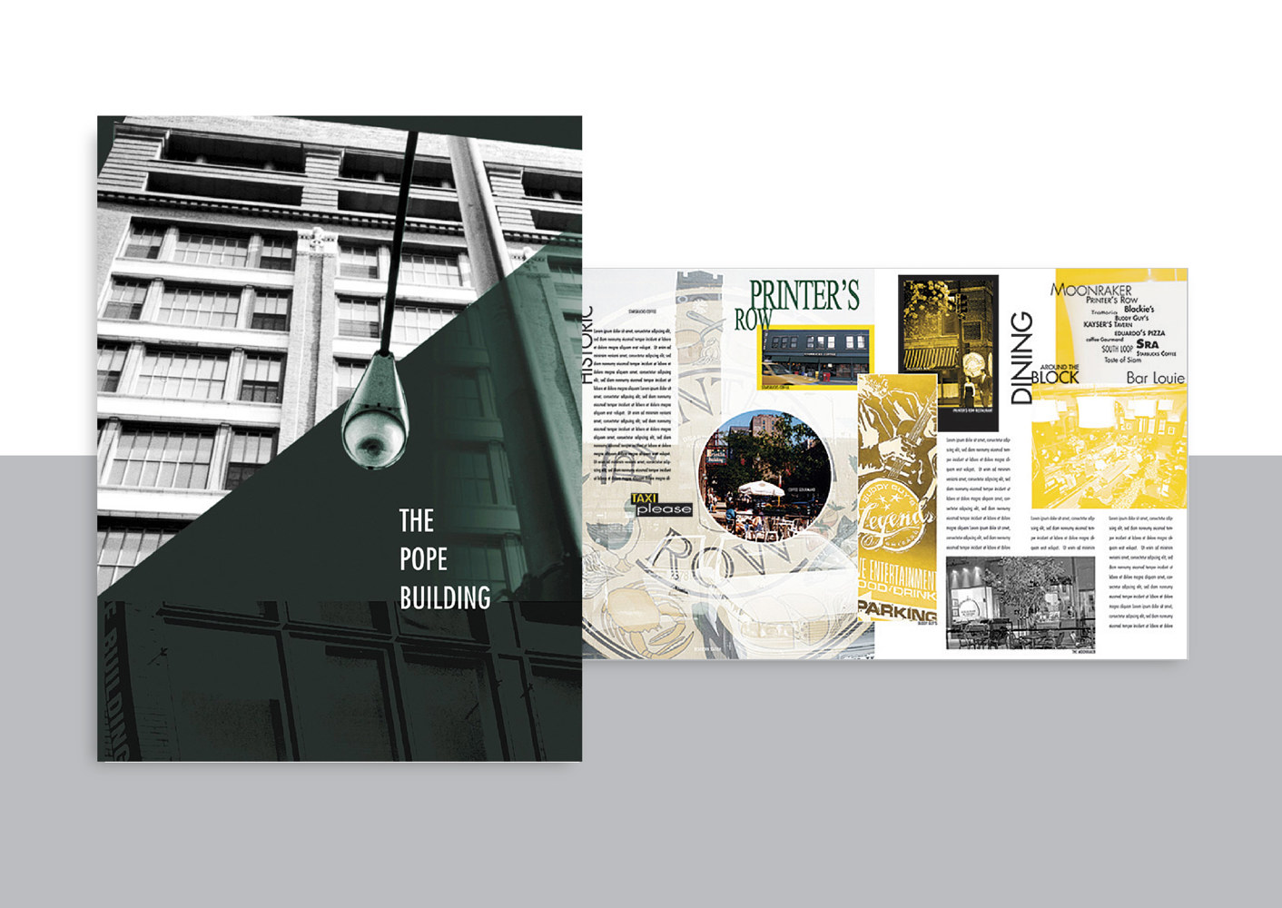 The Pope Building | Real Estate | Brochure by Nathalie Gribinski