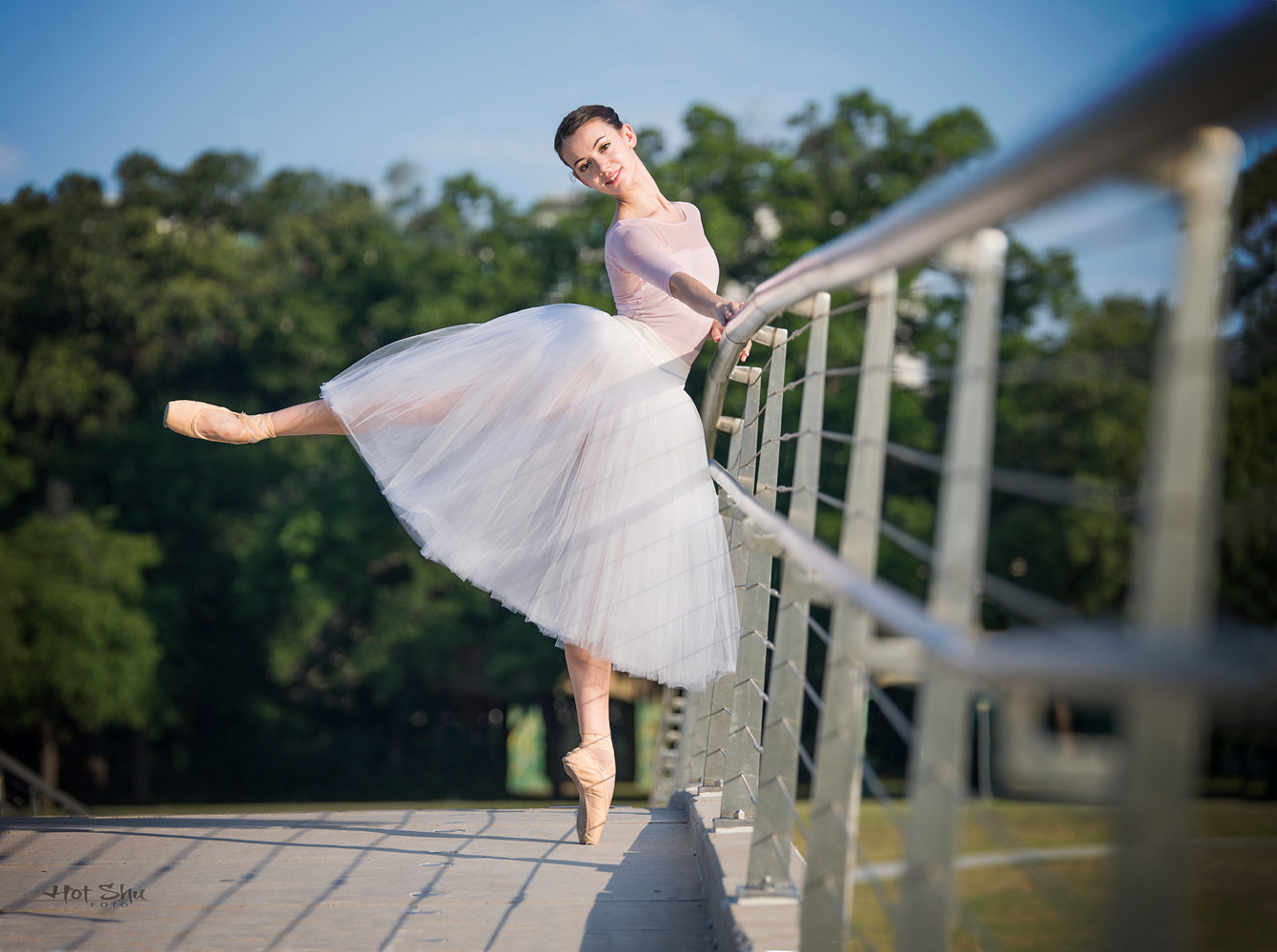 Alexandra Farber with the Texas Ballet Theater by Doug Berry