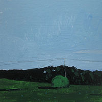Acrylic painting East Field by Harry Stooshinoff