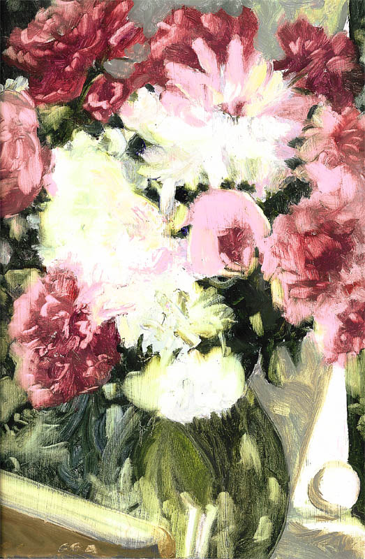 Peonies by Ginger Arthur