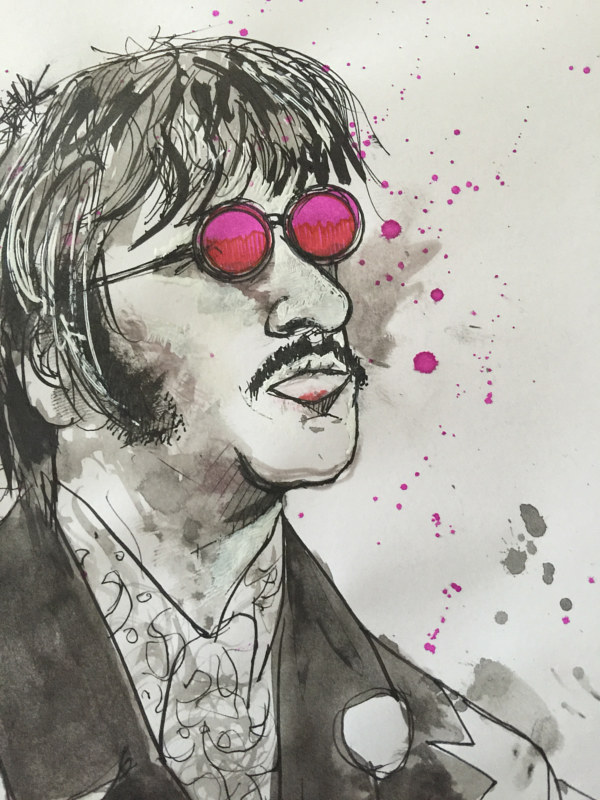 Drawing ringo by Joey Feldman