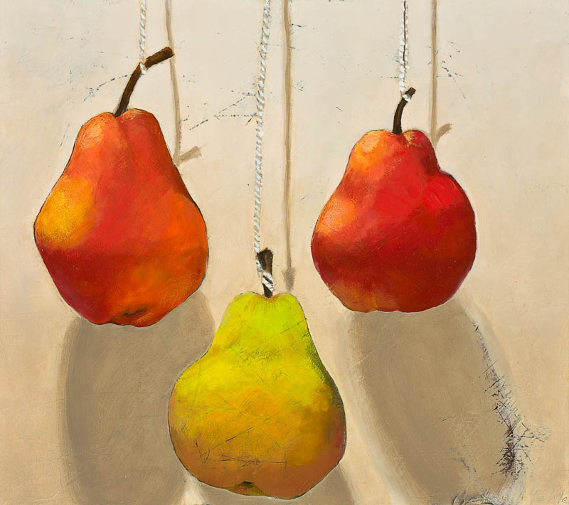 Drawing Barbara's Pears by Patty Yehle