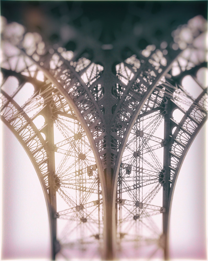 Eiffel Tower ll by Dawn Reilly