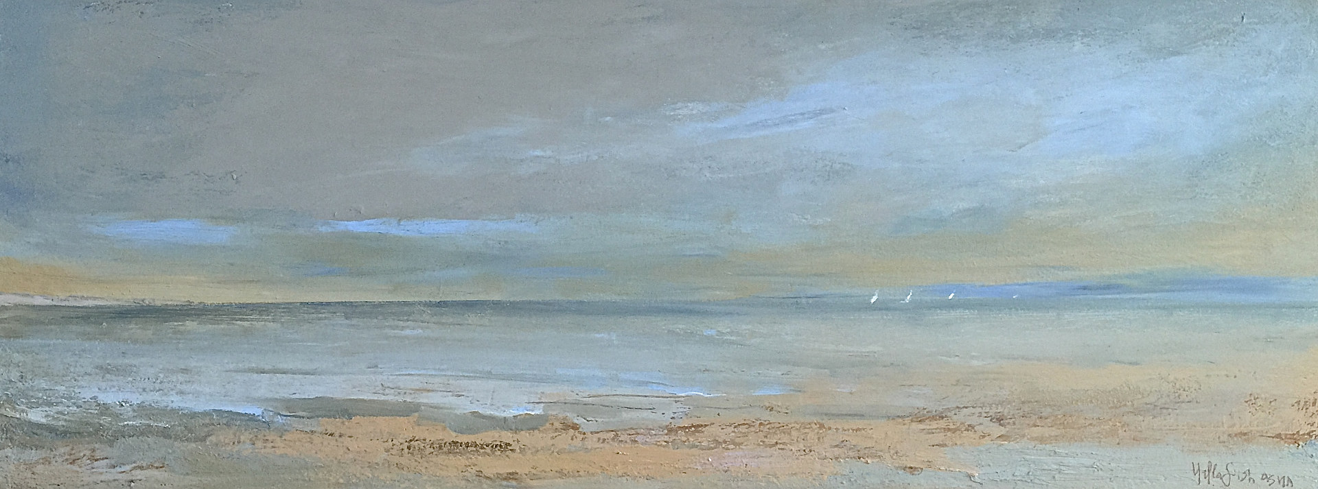 SOLD/Offshore @ Thomas Henry Gallery, Nantucket by Nella Lush