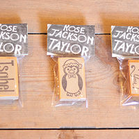Packaged Bespoke Stamps by ROSE WILLIAMS