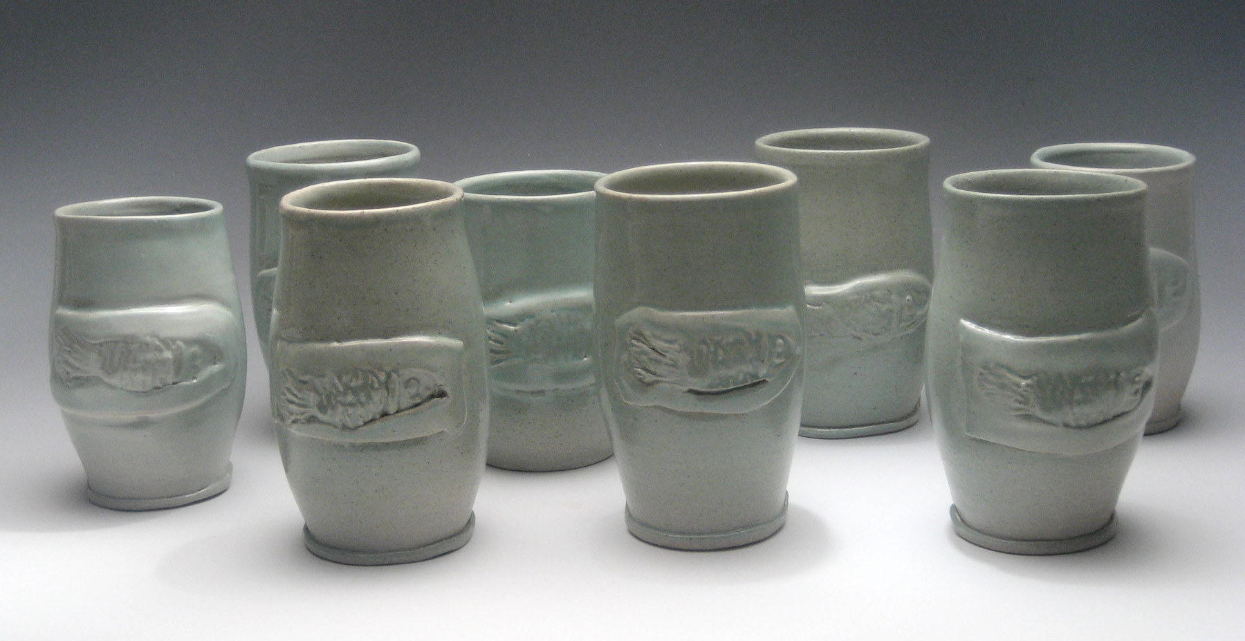 10 Goblets by Sharon V Smith