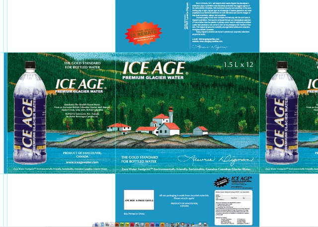 Print Ice Age Carton by Lawrie  Dignan