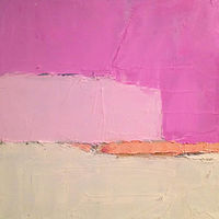 Oil painting Pink- SOLD by Sarah Trundle