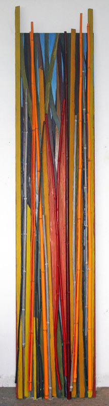 Oil painting Bamboozled Panel #6 by Gary Eleinko