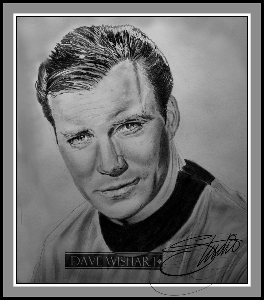 Kirk in Progress by Dave Wishart
