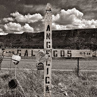 IN Memory of Angelica Gallegos, near Pecos, NM. 2015 by Jim Holbrook