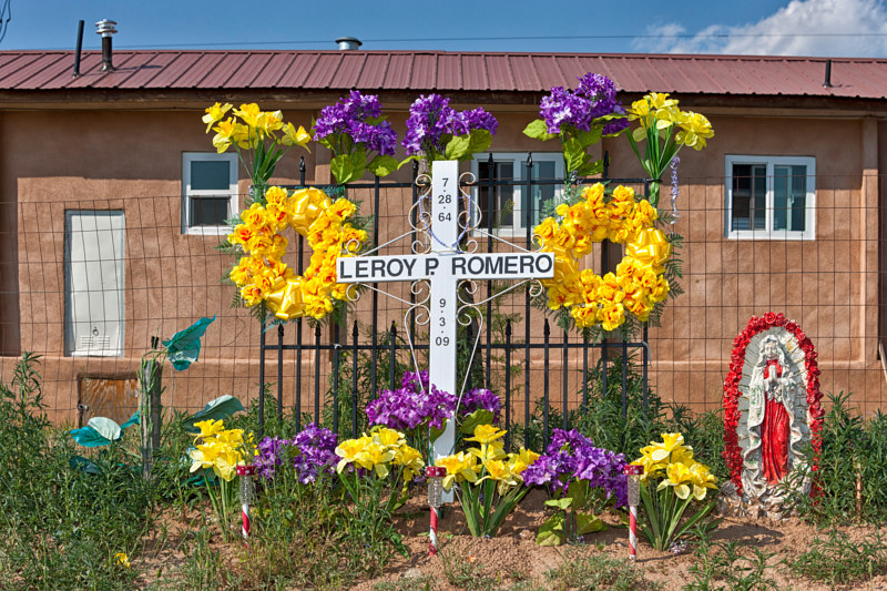 Leroy Romero, Dixon NM. 2015 by Jim Holbrook