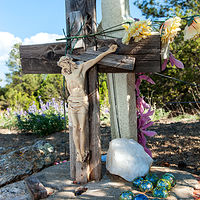 One Armed Crucifix no. 01, Northern NM. 2015 by Jim Holbrook