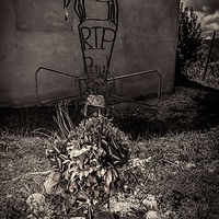 Paul Daryl Maes 1957-2014, Mora, NM. 2015 by Jim Holbrook