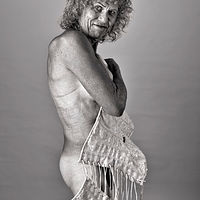 Rusty with Bustier, Albuquerque, NM, 2012. by Jim Holbrook