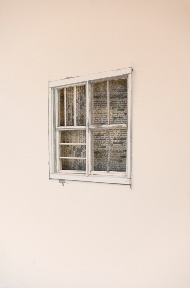 Drawing Vacancy - Window II by Amie t. Rangel