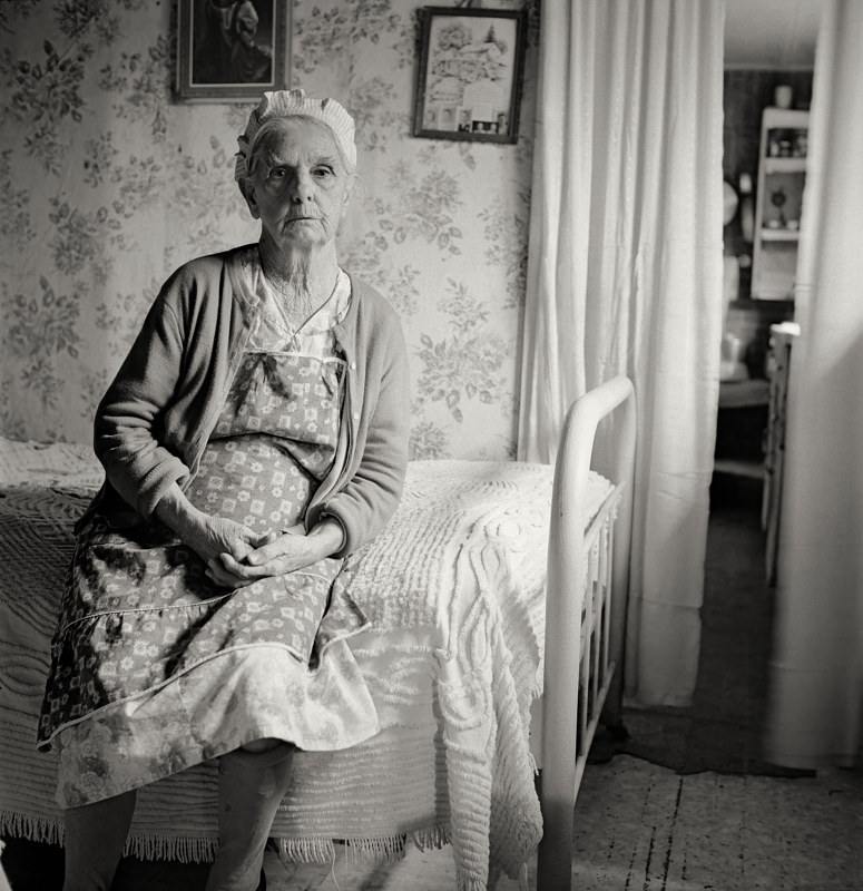 Mrs Litchfield, Apple Grove, West Virginia,1977. by Jim Holbrook