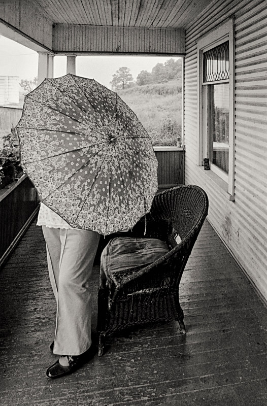 Eunice, My Grandmother, Point Pleasant, W.Va, 1977 by Jim Holbrook