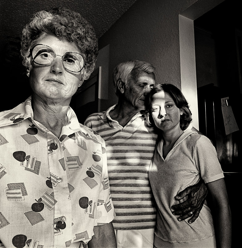 Family Ties, Albuquerque, 1978 by Jim Holbrook