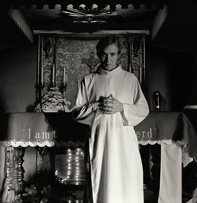 A Novitiate, Albuquerque, NM, 1975. by Jim Holbrook