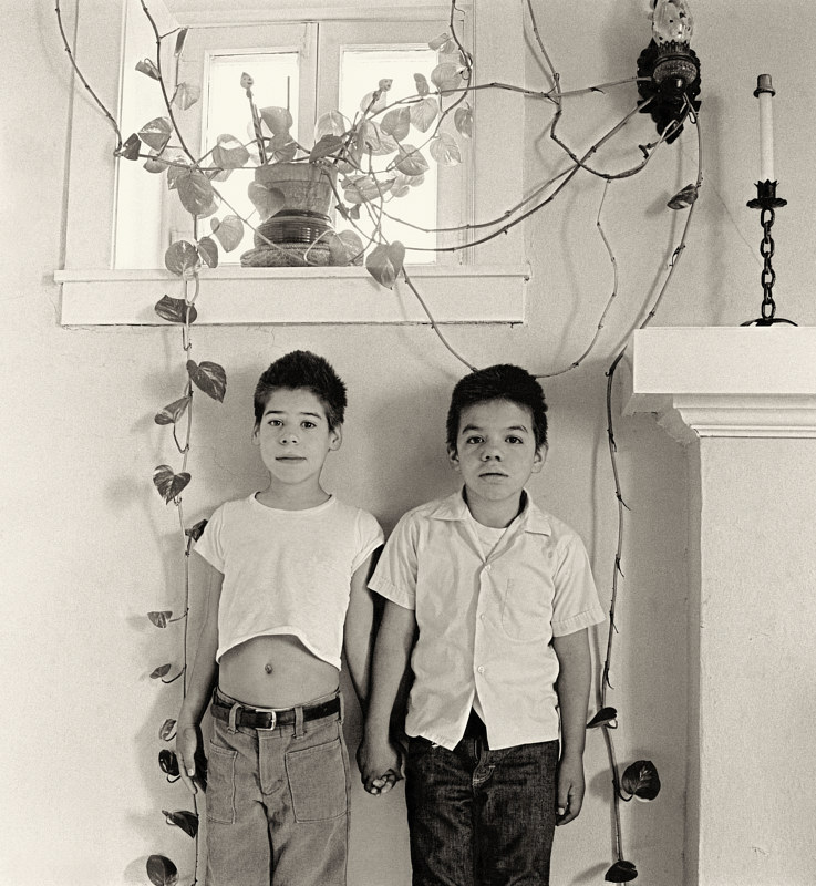 Boys in Foster Care, Little Brothers of the Good Shepherd, No.01, Albuquerque, 1975. by Jim Holbrook